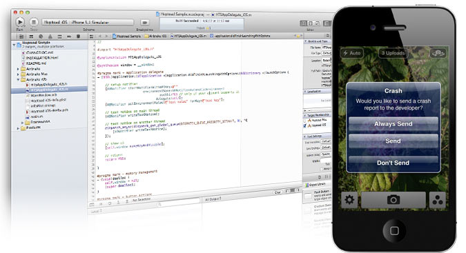track ios errors with Airbrake